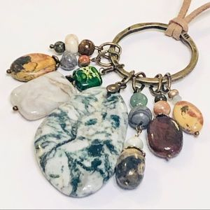 Naturally Beautiful Assemblage Necklace & Earrings